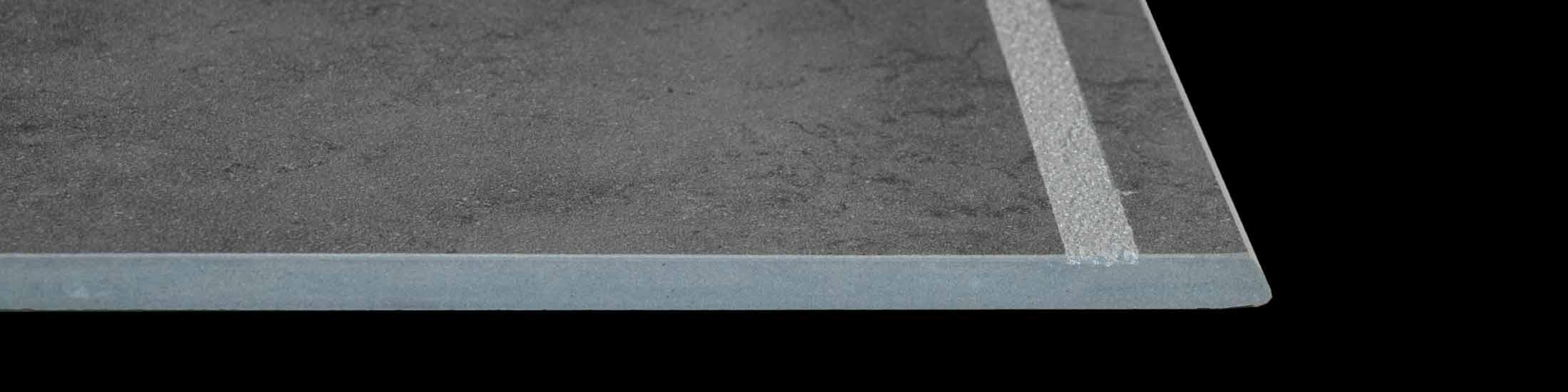 Stufen mit oder ohne Rillen aus Ihren Fliesen geschnitten • Cerasell